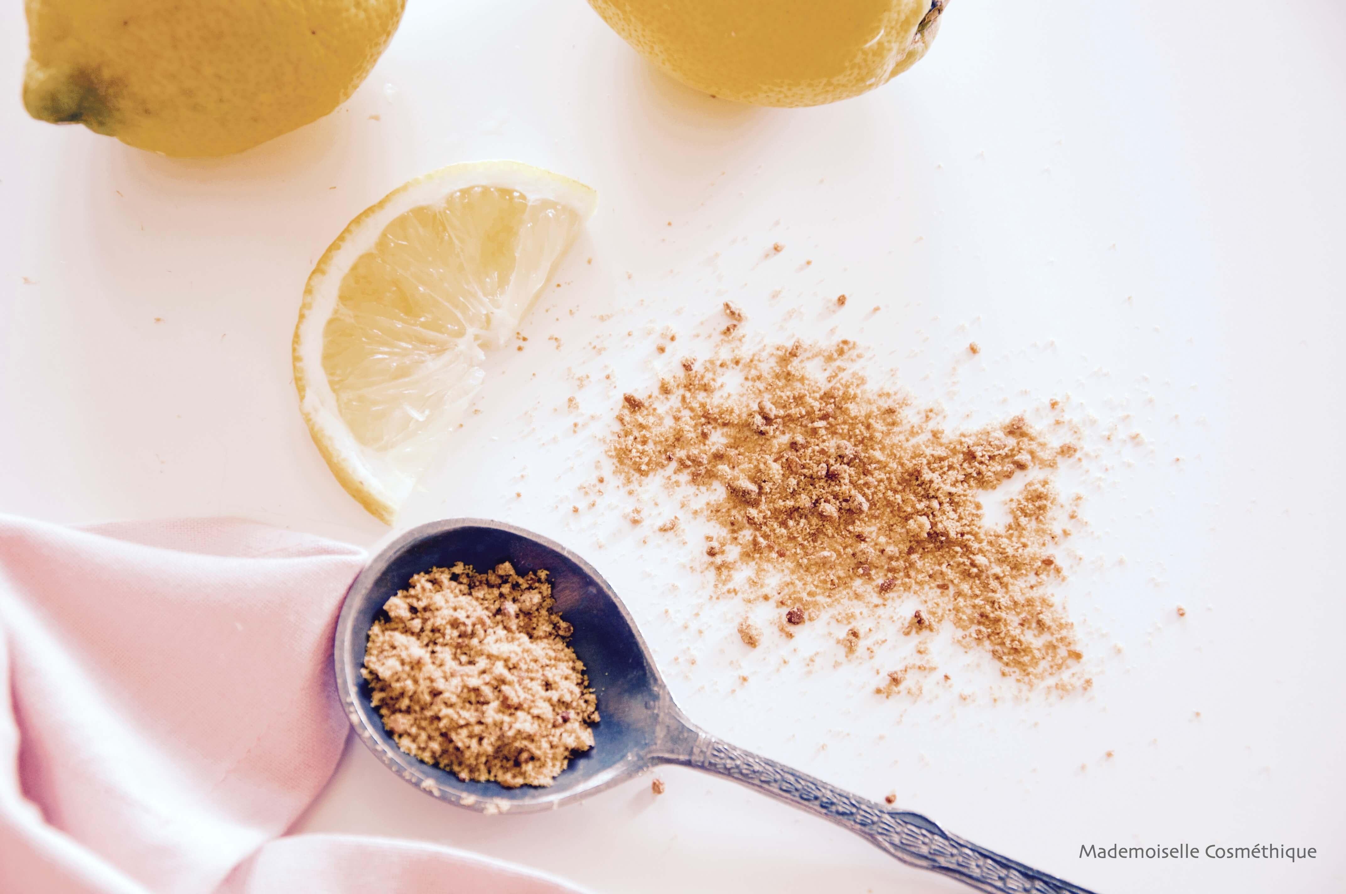 photo peeling citron