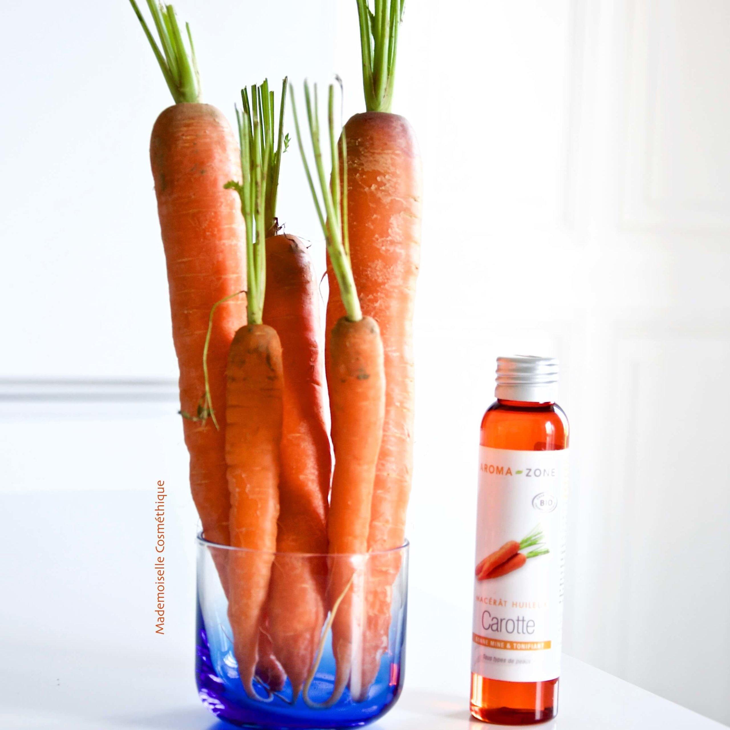 Le macérât de carotte, le miracle bonne-mine et anti-tâche