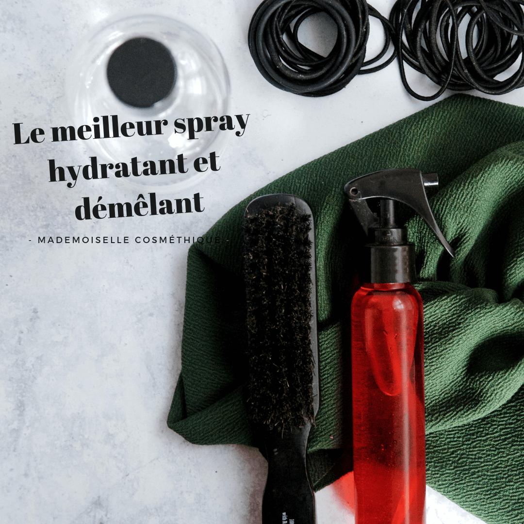 Le meilleur spray hydratant et démêlant